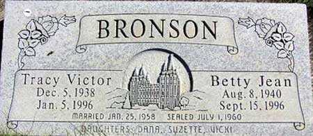 BRONSON, BETTY JEAN - Wasatch County, Utah | BETTY JEAN BRONSON - Utah Gravestone Photos