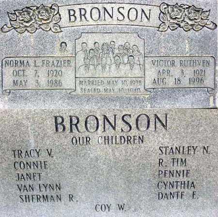 BRONSON, VICTOR RUTHVEN - Wasatch County, Utah   VICTOR RUTHVEN BRONSON - Utah Gravestone Photos