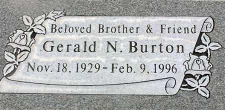 BURTON, GERALD NELSON - Wasatch County, Utah | GERALD NELSON BURTON - Utah Gravestone Photos