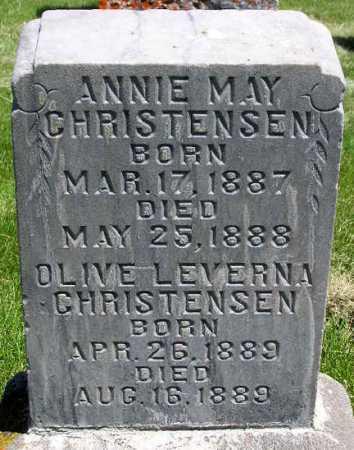 CHRISTENSEN, OLIVE LEVERNA - Wasatch County, Utah | OLIVE LEVERNA CHRISTENSEN - Utah Gravestone Photos