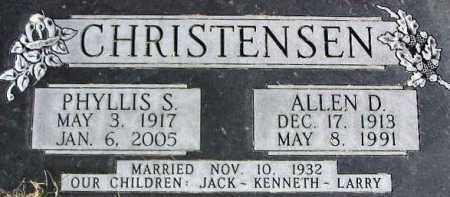 CHRISTENSEN, ALLEN DEWAINE - Wasatch County, Utah   ALLEN DEWAINE CHRISTENSEN - Utah Gravestone Photos