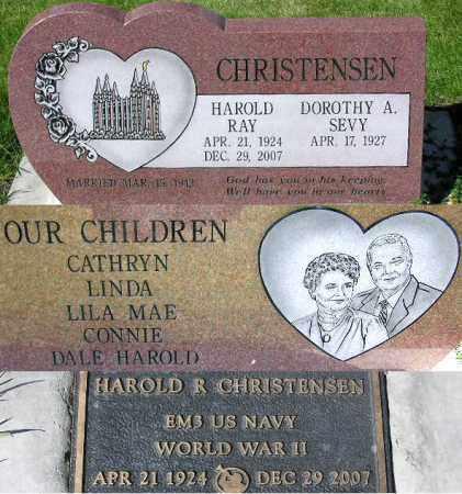 CHRISTENSEN, DOROTHY A. - Wasatch County, Utah | DOROTHY A. CHRISTENSEN - Utah Gravestone Photos