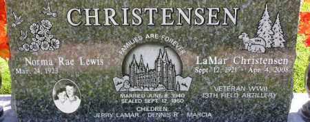 CHRISTENSEN, NORMA RAE - Wasatch County, Utah | NORMA RAE CHRISTENSEN - Utah Gravestone Photos