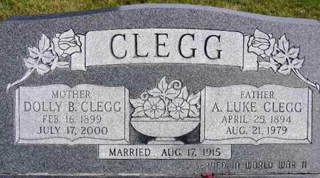 CLEGG, ANCHOR LUKE - Wasatch County, Utah | ANCHOR LUKE CLEGG - Utah Gravestone Photos