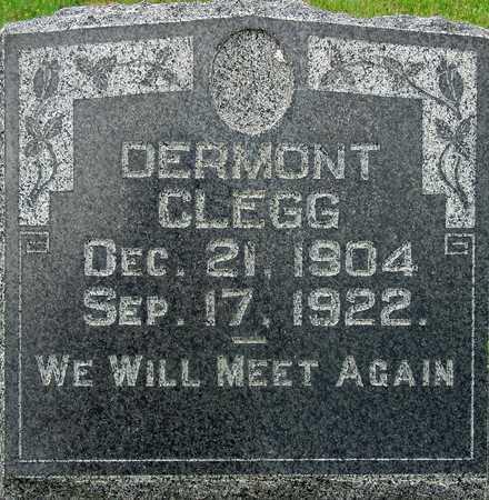 CLEGG, DERMONT - Wasatch County, Utah | DERMONT CLEGG - Utah Gravestone Photos