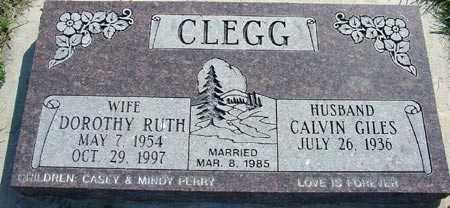 CLEGG, CALVIN GILES - Wasatch County, Utah | CALVIN GILES CLEGG - Utah Gravestone Photos