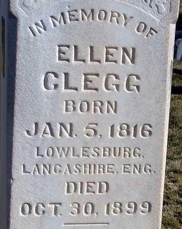 CLEGG, ELLEN - Wasatch County, Utah   ELLEN CLEGG - Utah Gravestone Photos