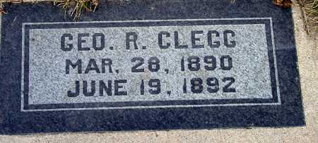 CLEGG, GEORGE RICHARD - Wasatch County, Utah | GEORGE RICHARD CLEGG - Utah Gravestone Photos