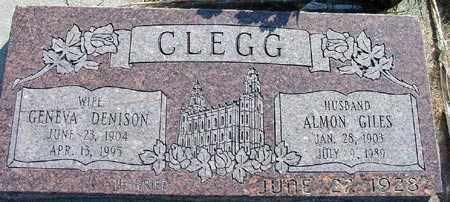 CLEGG, ALMON GILES - Wasatch County, Utah | ALMON GILES CLEGG - Utah Gravestone Photos