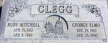 CLEGG, GEORGE ELMO - Wasatch County, Utah | GEORGE ELMO CLEGG - Utah Gravestone Photos
