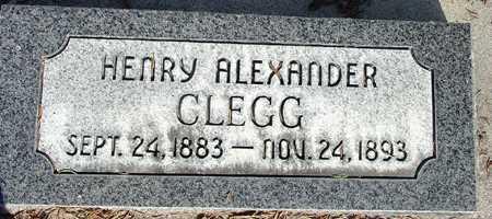 CLEGG, HENRY ALEXANDER - Wasatch County, Utah   HENRY ALEXANDER CLEGG - Utah Gravestone Photos