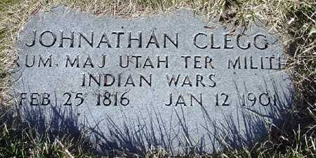 CLEGG, JONATHAN (MILITARY MARKER) - Wasatch County, Utah | JONATHAN (MILITARY MARKER) CLEGG - Utah Gravestone Photos