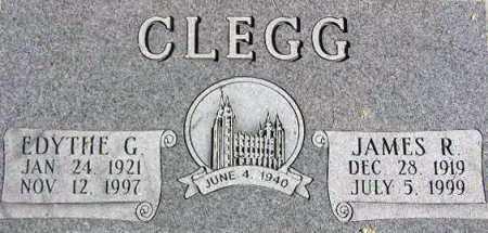 CLEGG, JAMES RAYMOND - Wasatch County, Utah | JAMES RAYMOND CLEGG - Utah Gravestone Photos