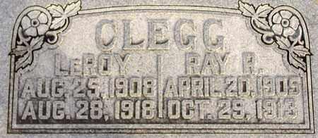 CLEGG, RAY ROBERT - Wasatch County, Utah | RAY ROBERT CLEGG - Utah Gravestone Photos