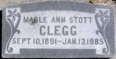 CLEGG, MABLE ANN - Wasatch County, Utah | MABLE ANN CLEGG - Utah Gravestone Photos