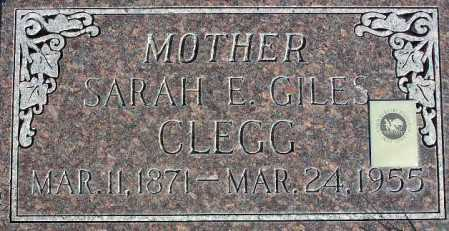 CLEGG, SARAH ELIZABETH - Wasatch County, Utah | SARAH ELIZABETH CLEGG - Utah Gravestone Photos