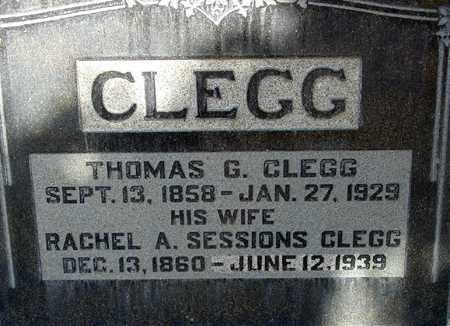 CLEGG, THOMAS GRIFFITHS - Wasatch County, Utah | THOMAS GRIFFITHS CLEGG - Utah Gravestone Photos