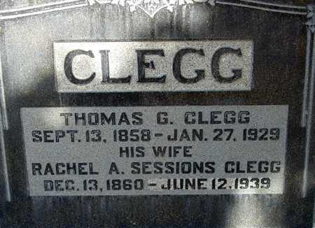 CLEGG, RACHEL ANN - Wasatch County, Utah | RACHEL ANN CLEGG - Utah Gravestone Photos