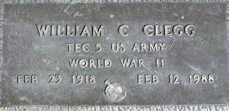 CLEGG, WILLIAM CLIFFORD - Wasatch County, Utah | WILLIAM CLIFFORD CLEGG - Utah Gravestone Photos
