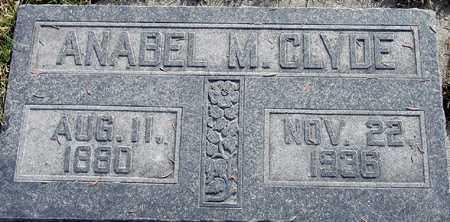 CLYDE, ANABEL - Wasatch County, Utah | ANABEL CLYDE - Utah Gravestone Photos