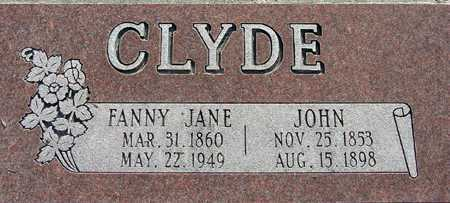 CLYDE, JOHN - Wasatch County, Utah | JOHN CLYDE - Utah Gravestone Photos