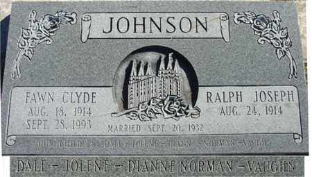 JOHNSON, FAWN - Wasatch County, Utah | FAWN JOHNSON - Utah Gravestone Photos