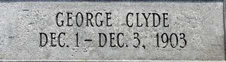 CLYDE, GEORGE - Wasatch County, Utah | GEORGE CLYDE - Utah Gravestone Photos