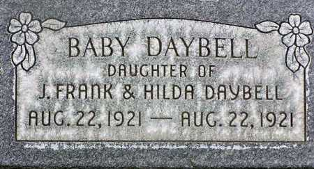 DAYBELL, BABY DAUGHTER - Wasatch County, Utah   BABY DAUGHTER DAYBELL - Utah Gravestone Photos