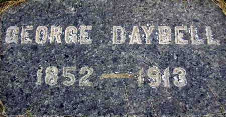 DAYBELL, GEORGE - Wasatch County, Utah   GEORGE DAYBELL - Utah Gravestone Photos