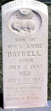 DAYBELL, JAMES FINITY - Wasatch County, Utah | JAMES FINITY DAYBELL - Utah Gravestone Photos