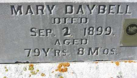 DAYBELL, MARY (FULL-VIEW) - Wasatch County, Utah | MARY (FULL-VIEW) DAYBELL - Utah Gravestone Photos