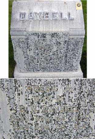 DAYBELL, PHEBA ALBERTINA - Wasatch County, Utah   PHEBA ALBERTINA DAYBELL - Utah Gravestone Photos