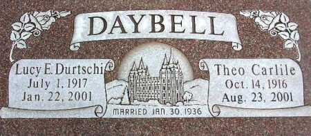 DAYBELL, LUCY EMILINE - Wasatch County, Utah | LUCY EMILINE DAYBELL - Utah Gravestone Photos