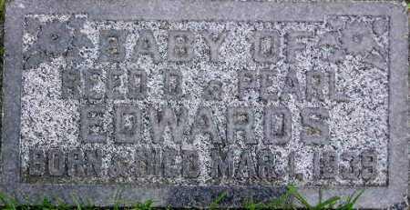 EDWARDS, BABY - Wasatch County, Utah | BABY EDWARDS - Utah Gravestone Photos