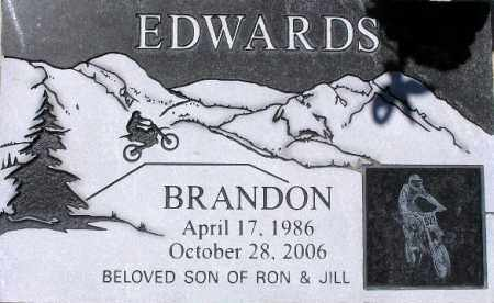 EDWARDS, BRANDON - Wasatch County, Utah | BRANDON EDWARDS - Utah Gravestone Photos