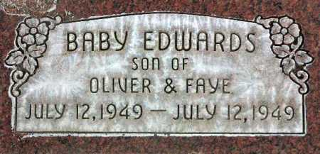 EDWARDS, BABY - Wasatch County, Utah   BABY EDWARDS - Utah Gravestone Photos
