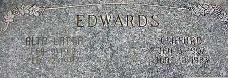 EDWARDS, ALTA - Wasatch County, Utah | ALTA EDWARDS - Utah Gravestone Photos