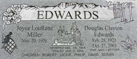 EDWARDS, DOUGLAS CLAYTON - Wasatch County, Utah | DOUGLAS CLAYTON EDWARDS - Utah Gravestone Photos