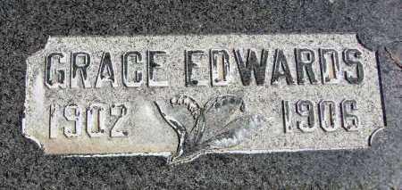 EDWARDS, GRACE - Wasatch County, Utah   GRACE EDWARDS - Utah Gravestone Photos