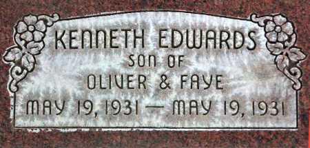 EDWARDS, KENNETH - Wasatch County, Utah | KENNETH EDWARDS - Utah Gravestone Photos