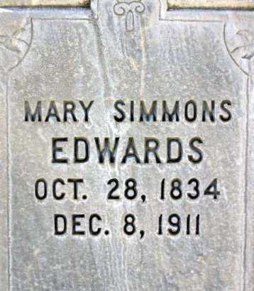EDWARDS, MARY - Wasatch County, Utah | MARY EDWARDS - Utah Gravestone Photos