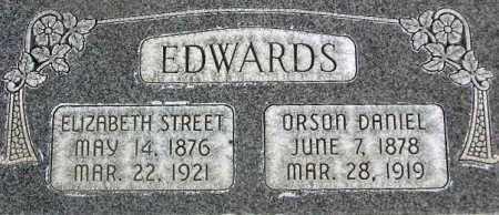 EDWARDS, ELIZABETH - Wasatch County, Utah | ELIZABETH EDWARDS - Utah Gravestone Photos