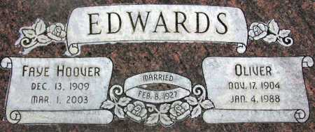 EDWARDS, FAYE - Wasatch County, Utah | FAYE EDWARDS - Utah Gravestone Photos