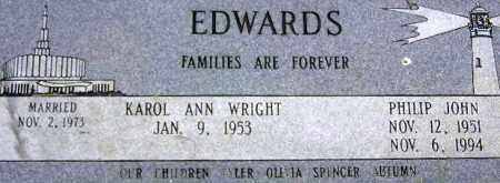 EDWARDS, PHILIP JOHN - Wasatch County, Utah | PHILIP JOHN EDWARDS - Utah Gravestone Photos