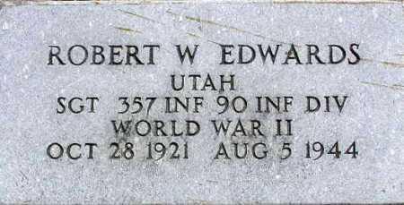 EDWARDS, ROBERT WILLIAM - Wasatch County, Utah | ROBERT WILLIAM EDWARDS - Utah Gravestone Photos