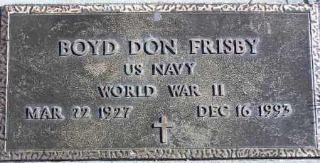 FRISBY, BOYD DON - Wasatch County, Utah | BOYD DON FRISBY - Utah Gravestone Photos