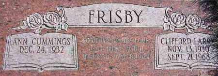 FRISBY, CLIFFORD LARRY - Wasatch County, Utah | CLIFFORD LARRY FRISBY - Utah Gravestone Photos