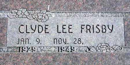 FRISBY, CLYDE LEE - Wasatch County, Utah | CLYDE LEE FRISBY - Utah Gravestone Photos