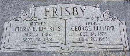 FRISBY, MARY ELLEN - Wasatch County, Utah | MARY ELLEN FRISBY - Utah Gravestone Photos
