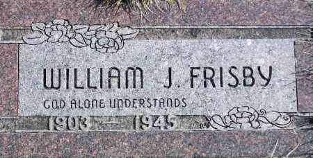 FRISBY, WILLIAM JOHN - Wasatch County, Utah   WILLIAM JOHN FRISBY - Utah Gravestone Photos